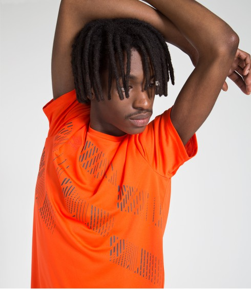 T-SHIRT POLY TRAINING ORANGE