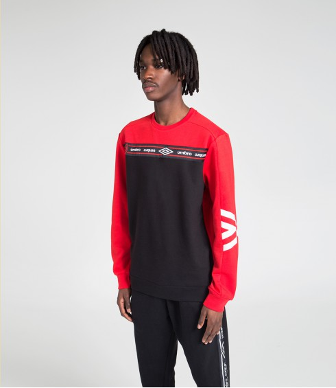 PULL A COL ROND AUTHENTIC ROUGE