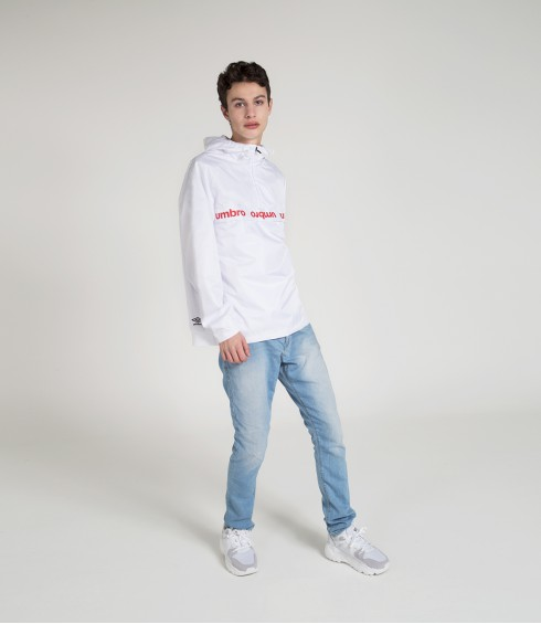 VESTE IMPERMEABLE AUTHENTIC BLANC